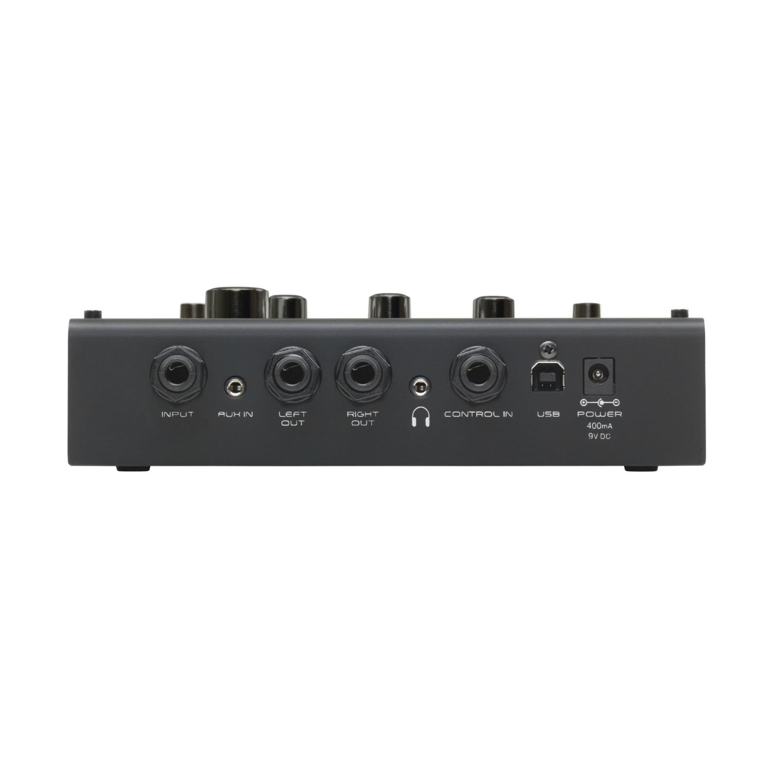 RP360 - Black - Guitar Multi-Effect Floor Processor with USB Streaming - Back