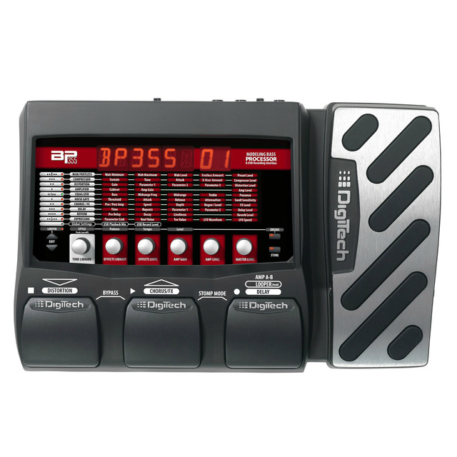 BP355 (discontinued) - Black - Bass Multi-Effects & USB Recording Interface - Hero