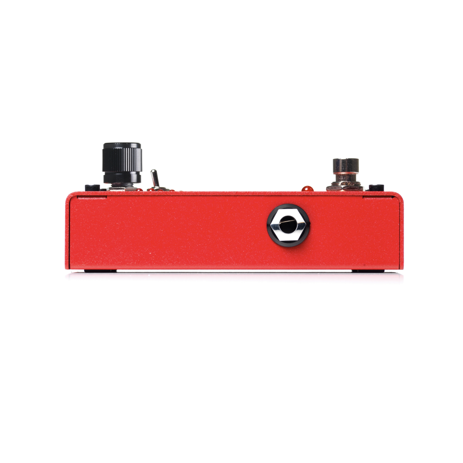 The Drop - Red - Polyphonic Drop Tune Pedal - Left