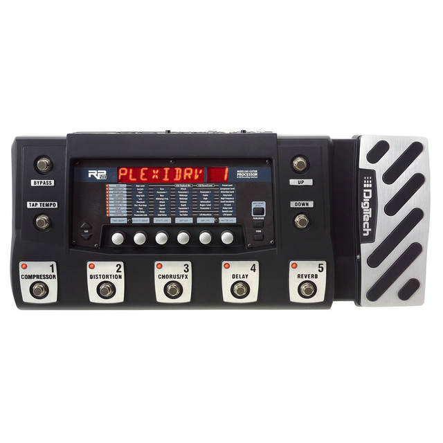 RP500 (discontinued) - Black - Multi-Effects Switching System & USB Recording Interface - Hero