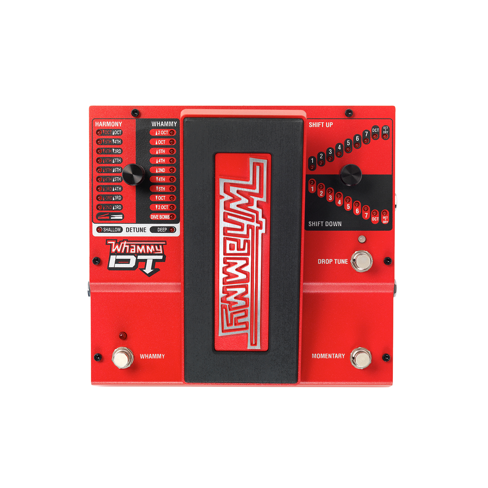 Whammy DT - Red - Classic pitch shifting with drop and raised tuning - Hero