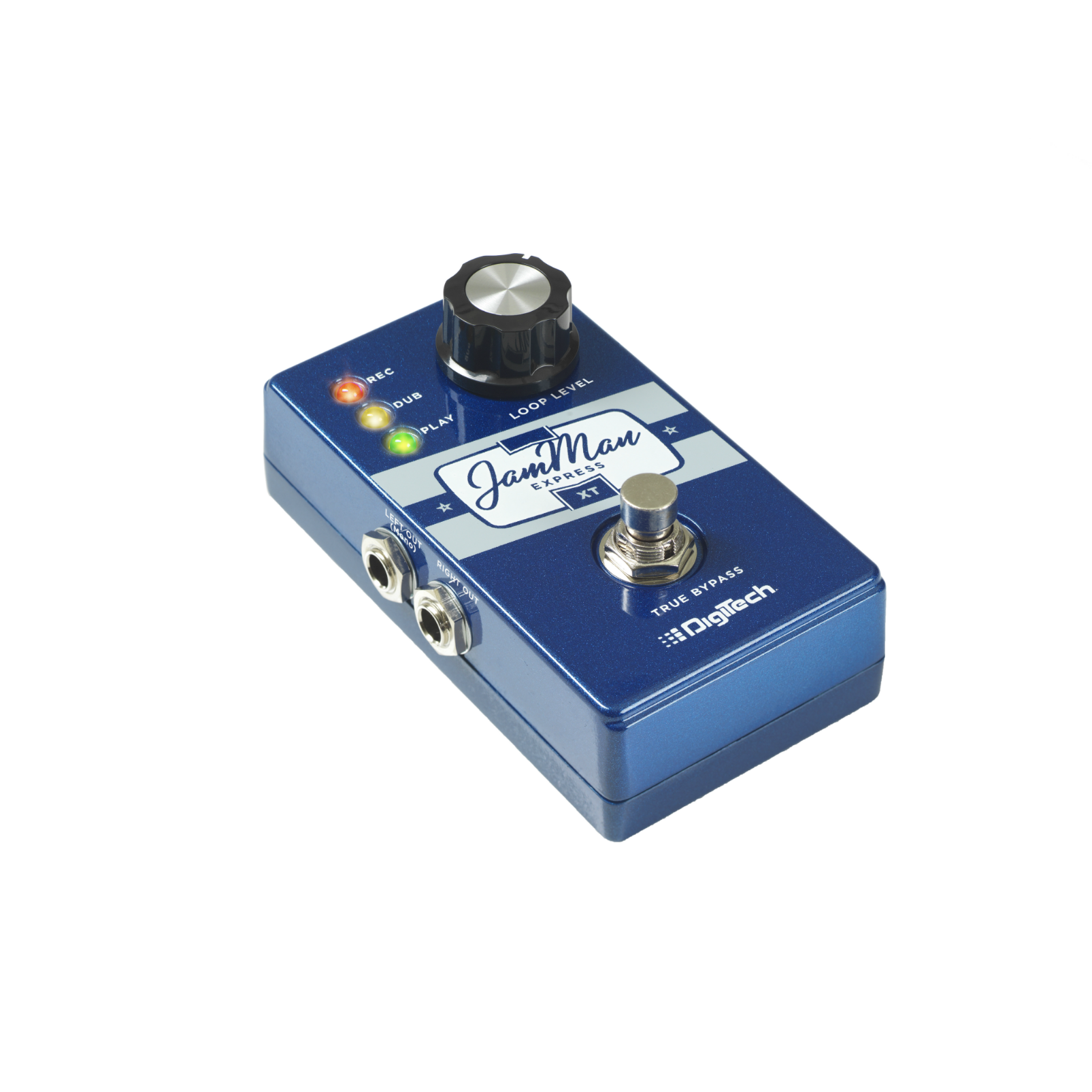 JamMan Express XT - Blue - Compact Stereo Looper with JamSync - Detailshot 1