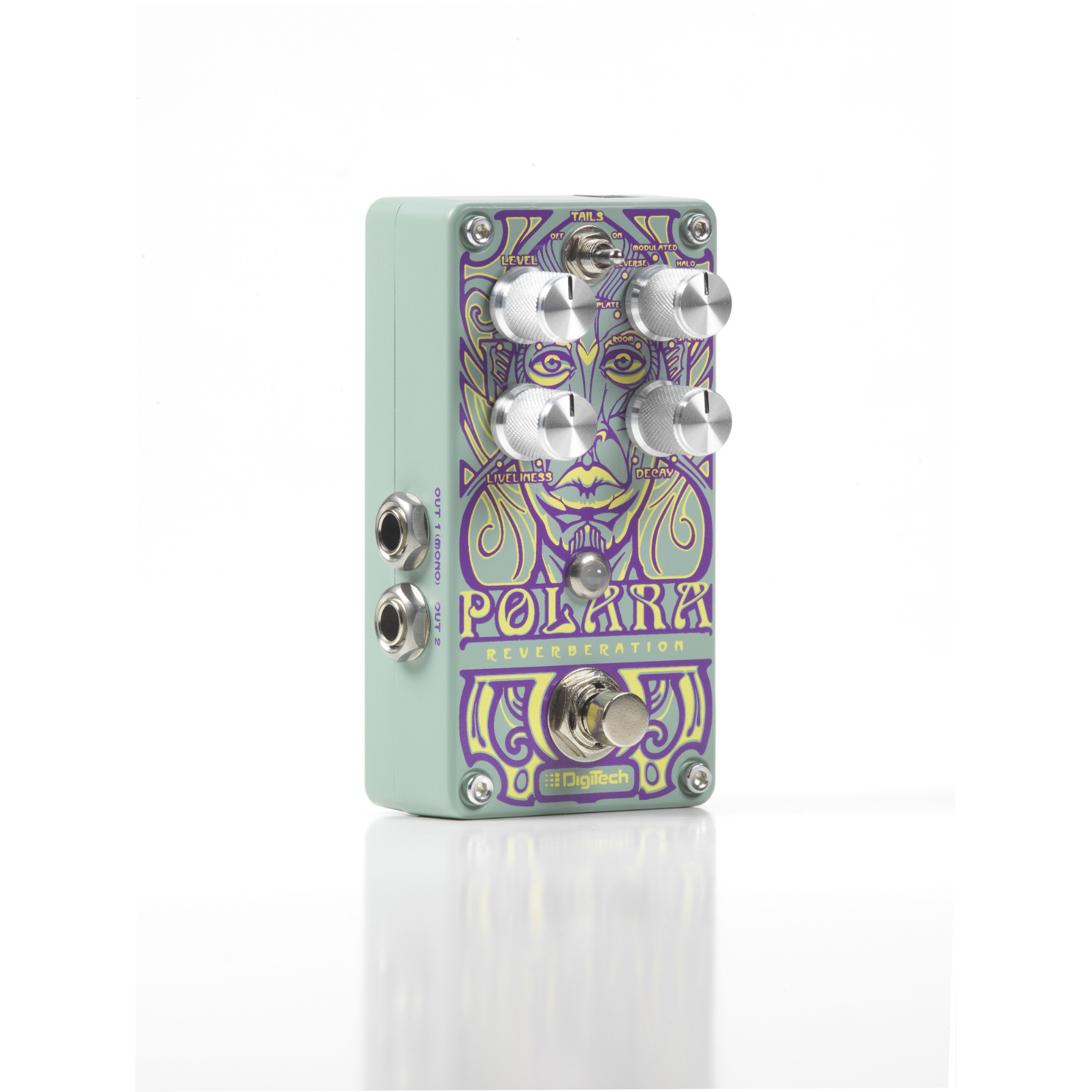 Polara (discontinued) - Green - Reverb Pedal - Hero