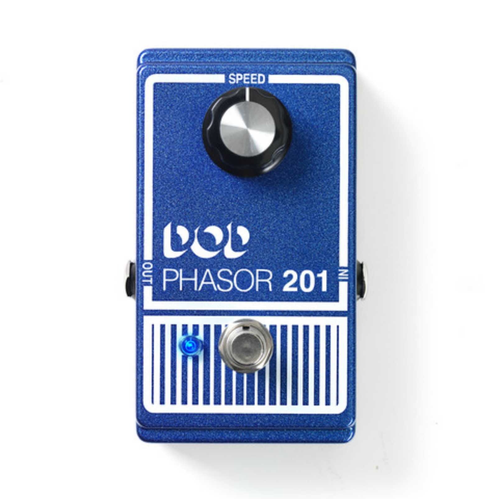 Phasor 201 - Blue - Legendary Analog Phasor Effect Pedal with true-bypass - Front