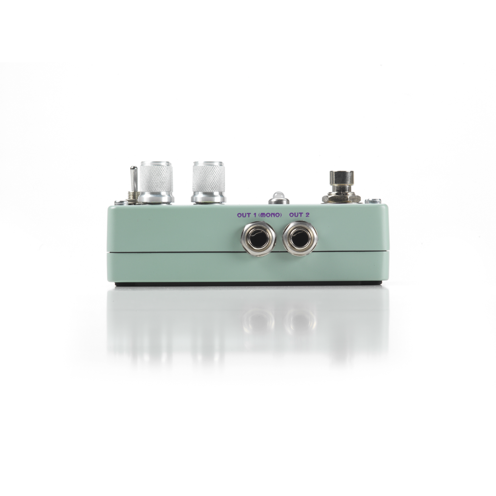 Polara (discontinued) - Green - Reverb Pedal - Left