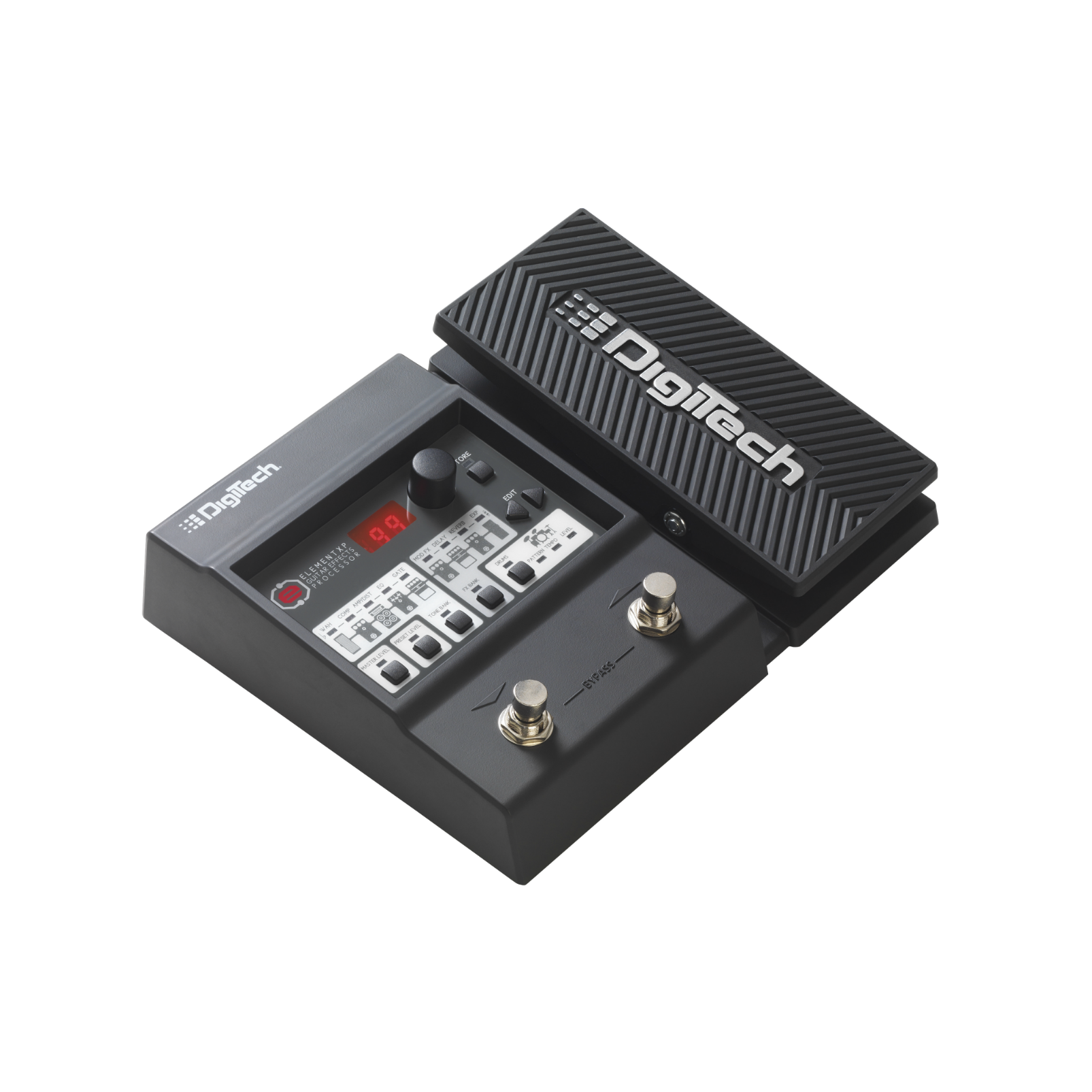 DigiTech Element XP (discontinued) - Black - Guitar Multi-Effects Processor with Expression Pedal - Hero