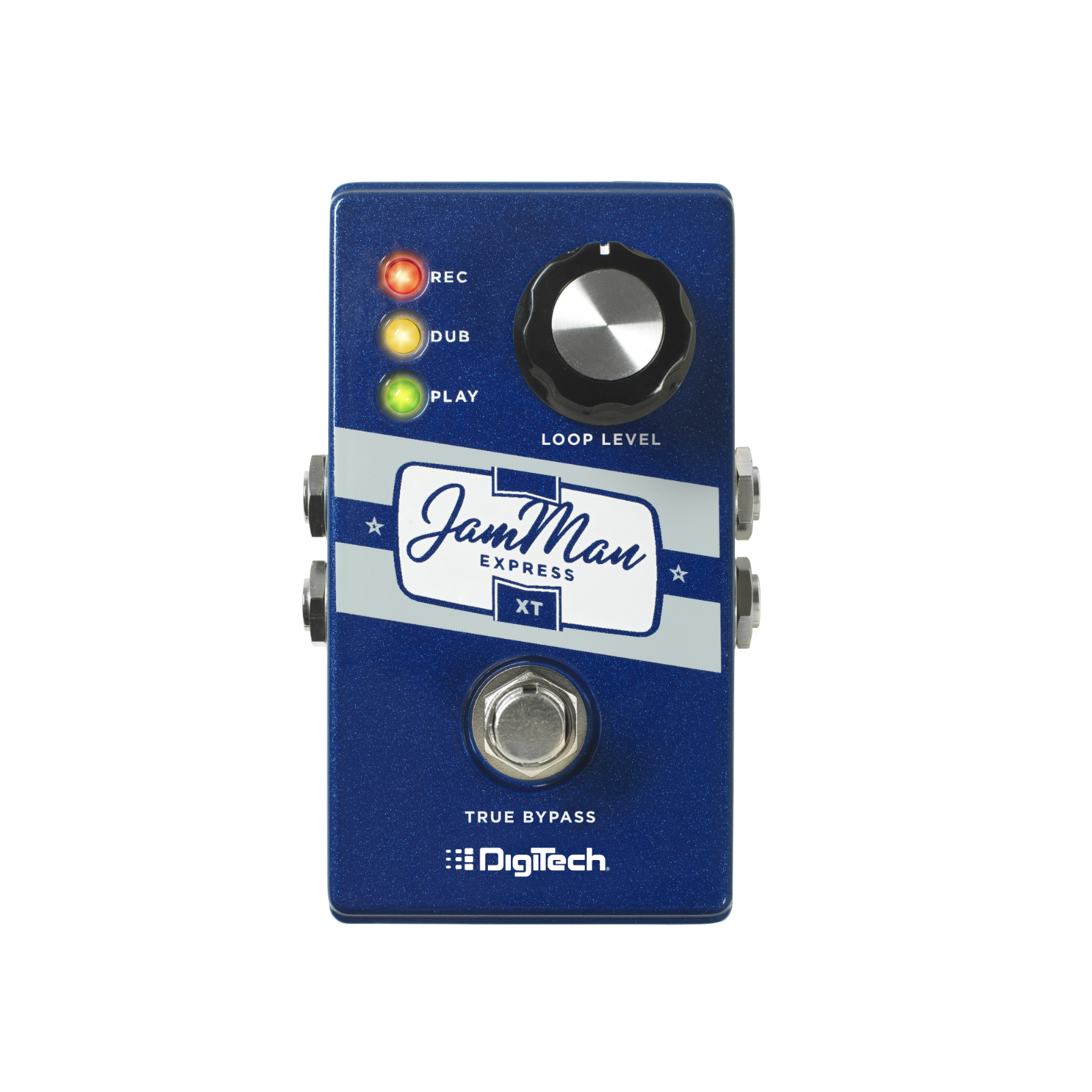 JamMan Express XT (discontinued) - Blue - Compact Stereo Looper with JamSync - Hero