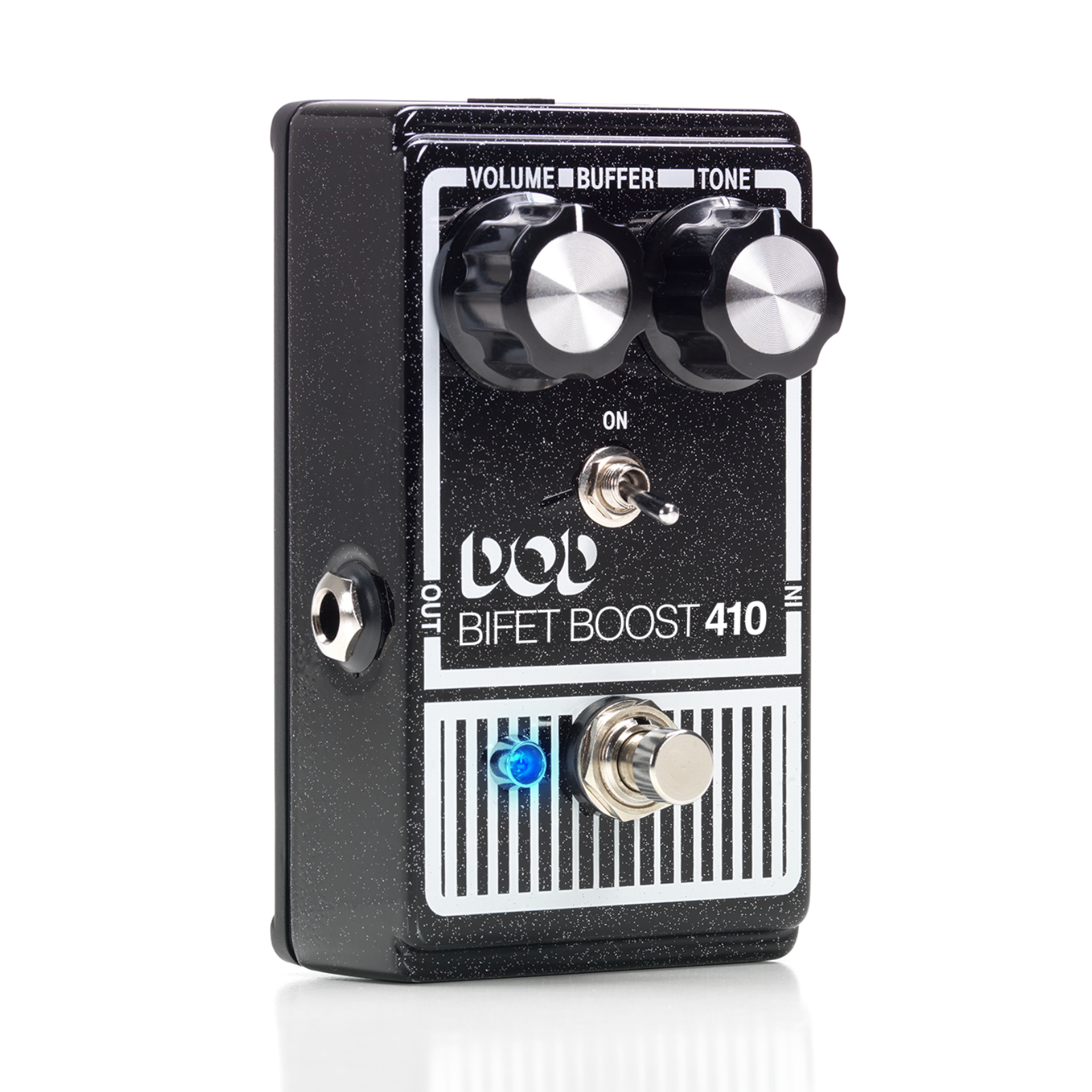Bifet Boost 410 - Black - Bifet Boost with Selectable Buffer Switch - Hero