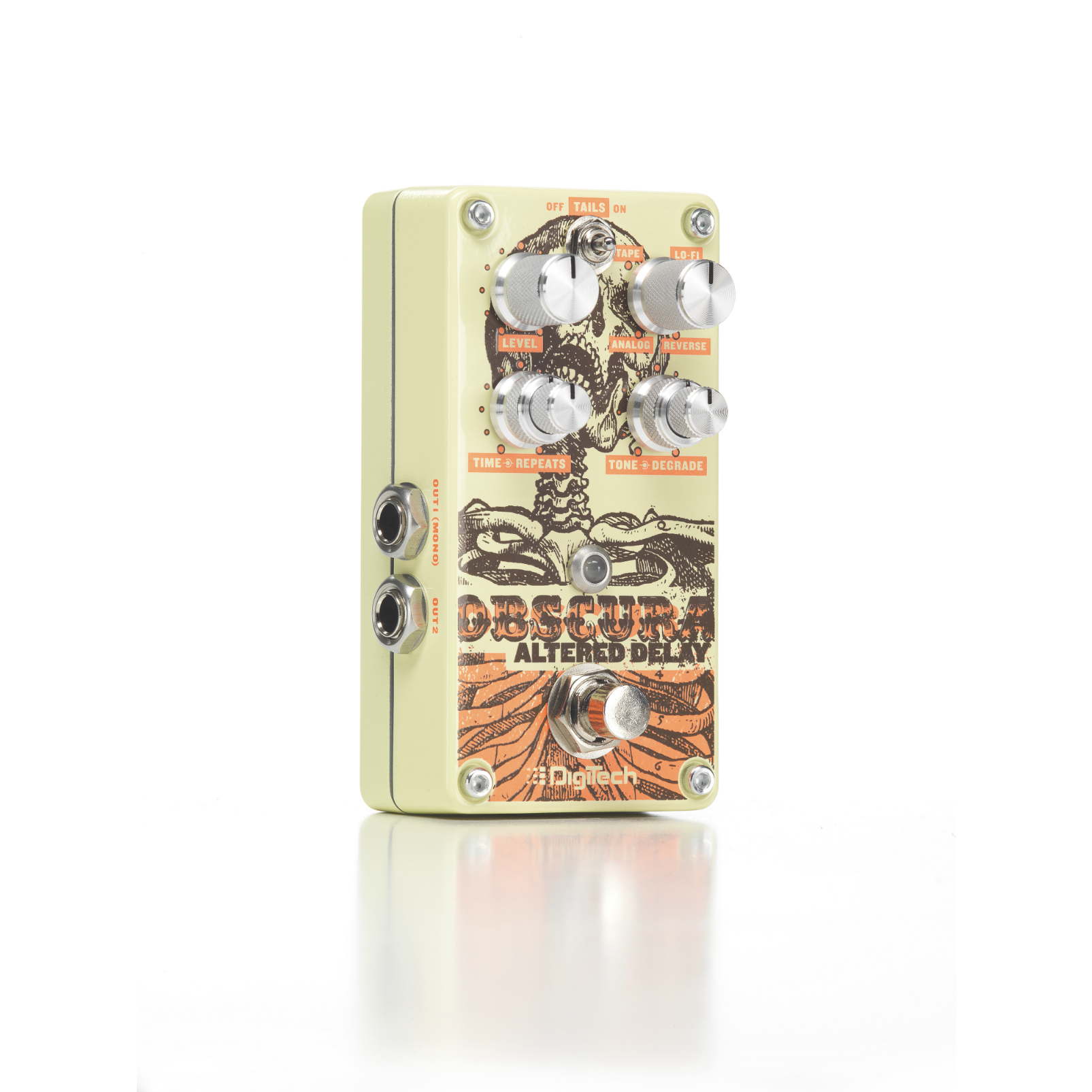 Obscura - Beige - Altered Delay Pedal - Hero